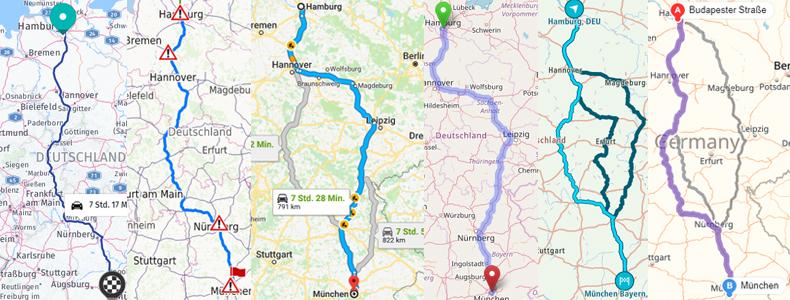 Der Grosse Routenplaner Test Landkarten Und Stadtplan Index
