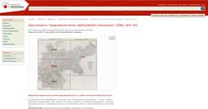 deutschland landkarten und stadtplan index. Black Bedroom Furniture Sets. Home Design Ideas