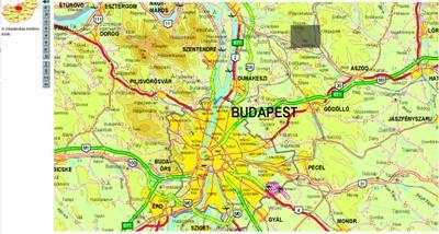Topographische Karte Ungarn.Ungarn Landkarten Stadtplane Und Routenplaner Verzeichnis