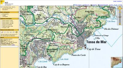 Spanien Landkarten Stadtpläne Und Routenplaner Verzeichnis
