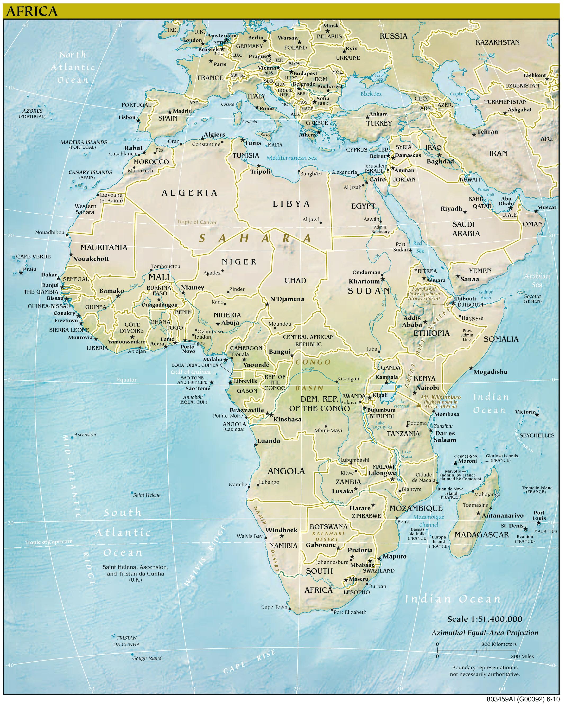 Afrika Landkarten Kostenlos Cliparts Kostenlos