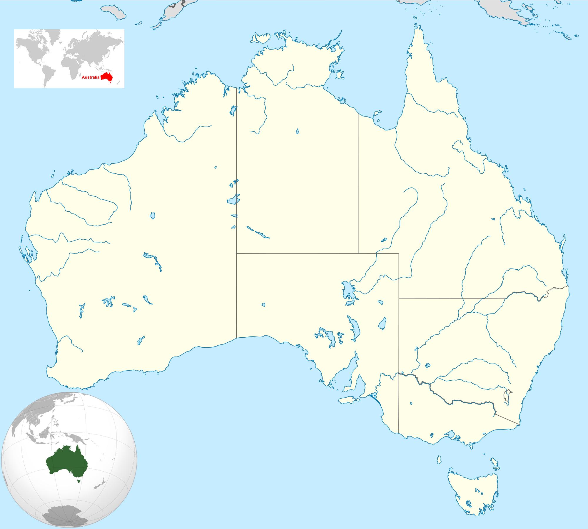 australia location map landkarten kostenlos cliparts. Black Bedroom Furniture Sets. Home Design Ideas