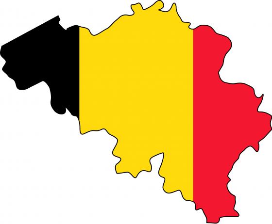 Belgien Karte Umriss.Flaggenkarte Von Belgien Landkarten Kostenlos Cliparts Kostenlos