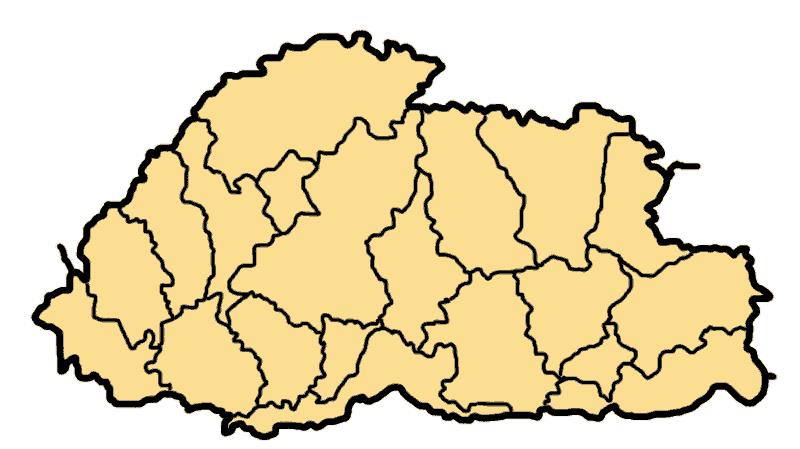 bhutan_divisions