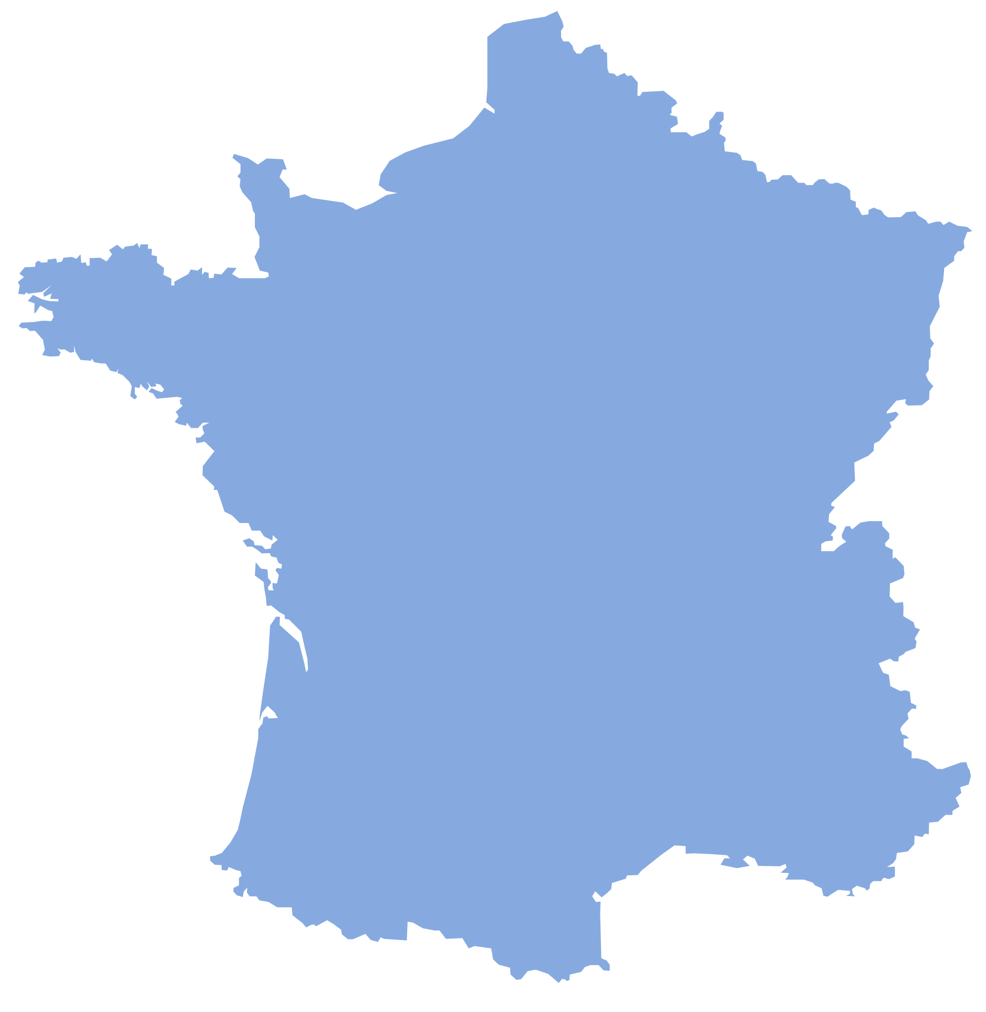 blank_france_map